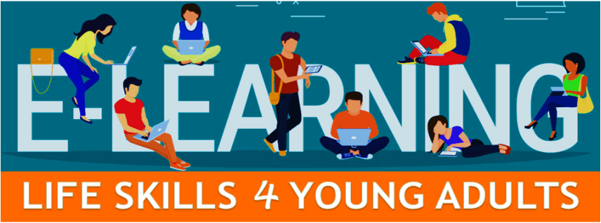 young adults learning life skills