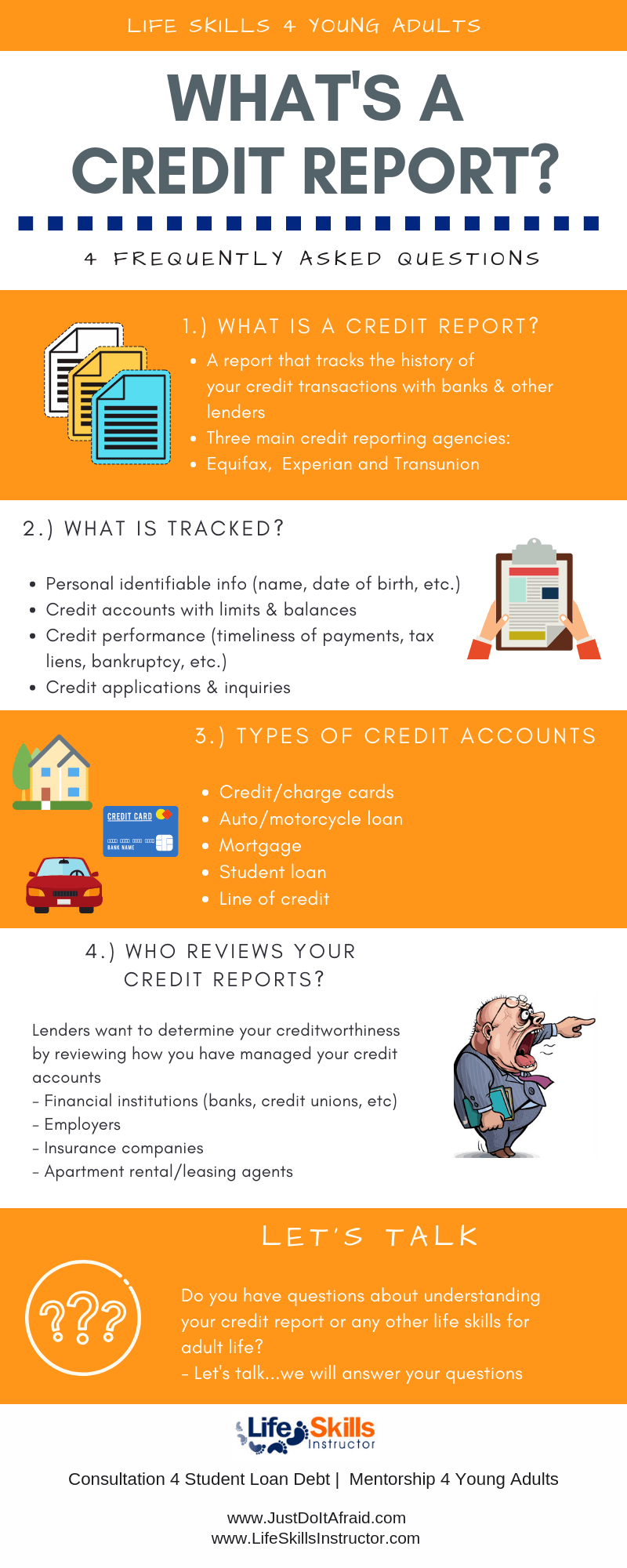 infographic-what is credit report